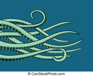 Tentacles - This is a vector graphic of some tentacles.