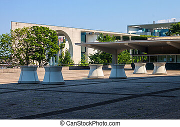 German Chancellery Bundeskanzleramt Building in Berlin,...