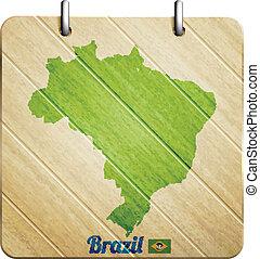 brazil badge