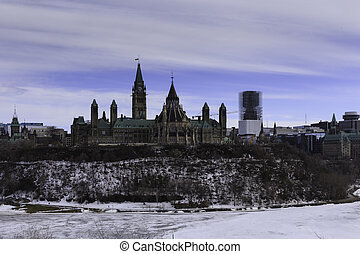 Parliament Hill in spring