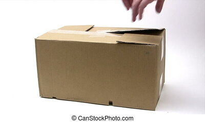 Opening a Parcel - Canon HV30. HD 16:9 1920 x 1080 @ 25.00...