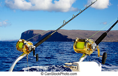 Trolling rods for deep sea fishing - Trolling rods for deep...