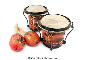 rhythm instruments - Rhythm percussion instruments like...
