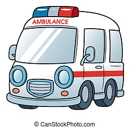 Ambulance - Vector illustration of Ambulance