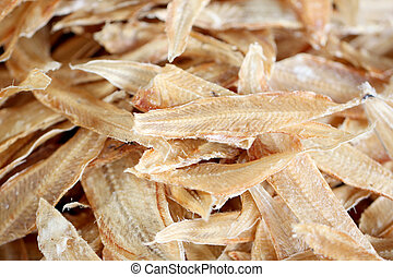 Drying sea fish in preservation of foods. - Drying sea fish...