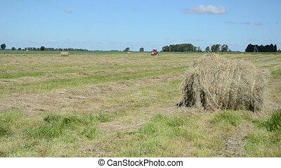 haystack tractor work
