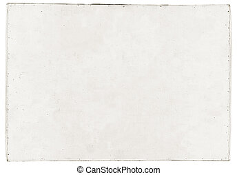 white dirty plywood isolated on white background