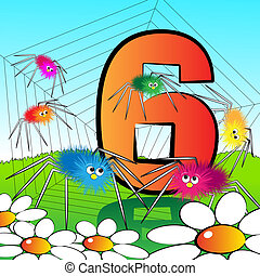 Numbers serie for kids - #06 - Animals and numbers series...