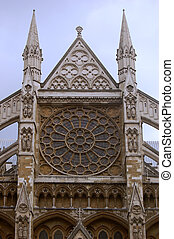 Westminster Abbey, London, England - Westminster Abbey in...
