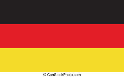 Flag of Germany - Germany flag vector illustration. created...