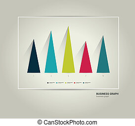 Business graph.