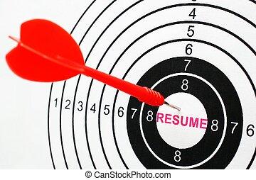 Resume target