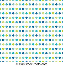 Colorful flat repeat wall paper polka dot design. Cold boy...