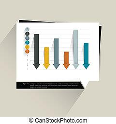 Infographics chart.