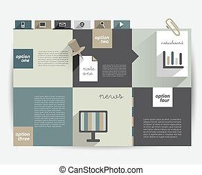 Info graphics flat scheme.