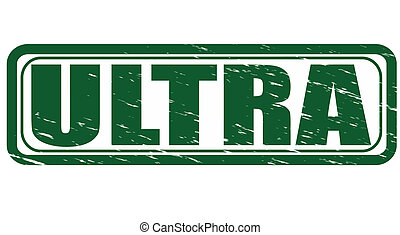 Ultra - Stamp with word ultra inside, vector illustration