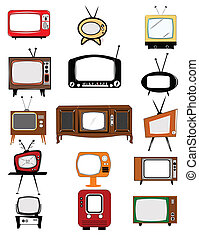 television,  retro, Kollektion