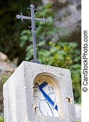 Pelgrimsroute to chapelle notre dame de beauvoir - Moustiers...