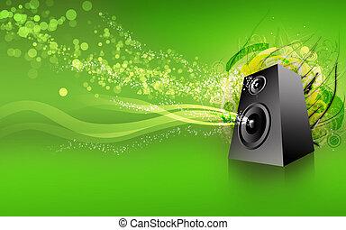 speaker green