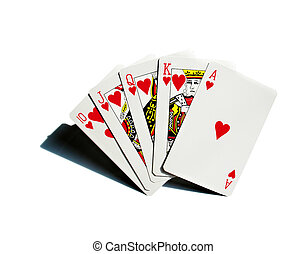 Play cards poker hearts aces gambling casino