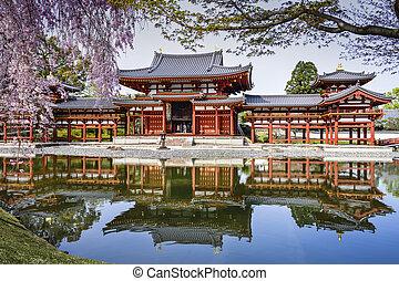 Byodo-in - Kyoto, Japan at Byodo-in Temple.