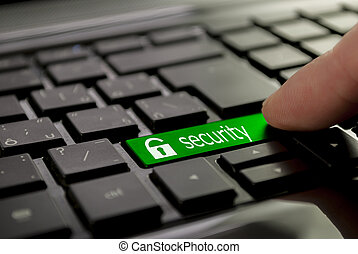 green button security