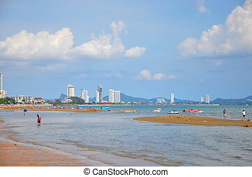Thailand, Pattaya beach