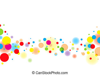 light bubble - Subtle colorful bubble background with white...