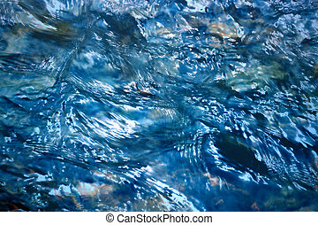 blurred water level - abstract background or texture blurred...