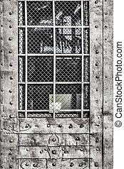 Old Dungeon Armored Door