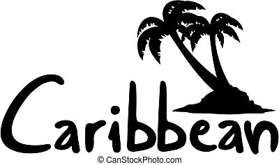 Caribbean palm - Creative design of caribbean palm