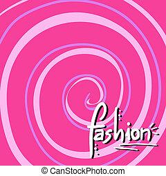 Fashion cover - Creative design of fashion cover