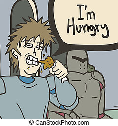 I?m hungry - Creative design of i?m hungry