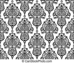 Paisley seamless pattern