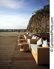 Dreamland beach - Restaurant open-air in Dreamland beach....