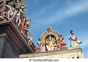 Sri Mariamman Hindu Temple Singapore - Details of Sri...