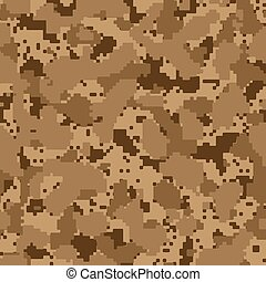 Desert seamless digital camo