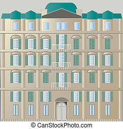 apartment - It is an illustration of the apartment.