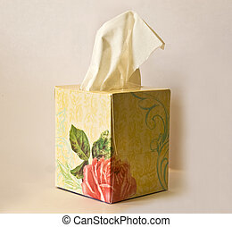 Tissue Box - A box of tissues