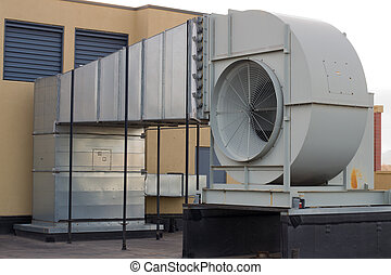 Building Ventilation - Commercial grade outside air...