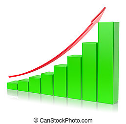 Abstract creative statistics, financial growth, business...