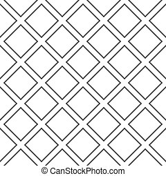 diagonal square cross on transparency background fence...