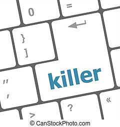killer computer keyboard key button