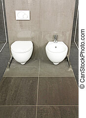 Grey WC
