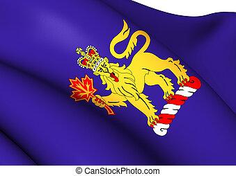 Governor-General of Canada Flag Close Up