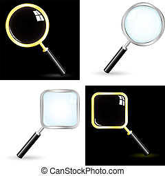 Magnifier. Usable for different design.