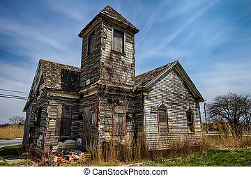 Abandoned Church in New Jersey - Abandoned Church in Bivalve...