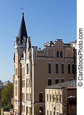 King Richard's castle  in Kiev
