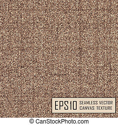 texture of burlap, - Realistic texture of burlap, canvas...