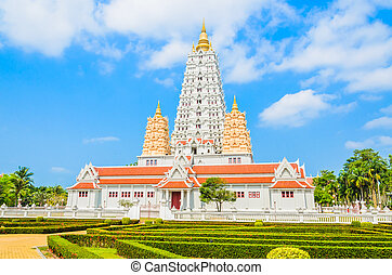 Thai temple chonburi